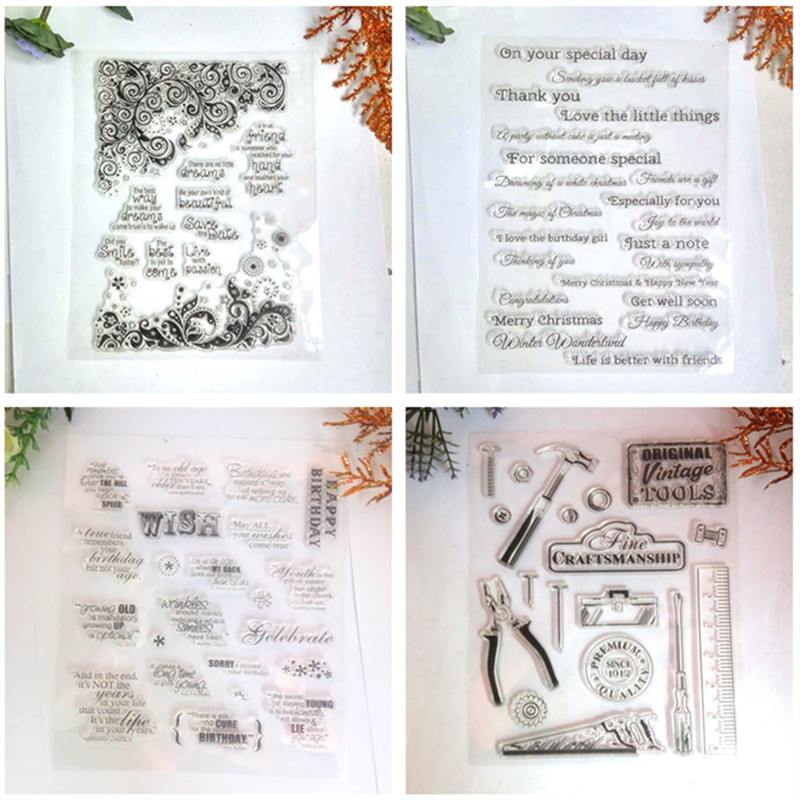 New Transparent Silicone Clear Rubber Stamp Scrapbooking Diy Cute Pattern Photo Album Paper Card Decor Bathing Girl Stamp Making Things Convenient For Customers Ebay Motors