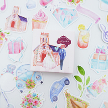 40 pcs/lot Cute wedding Mini Sticker Decoration DIY Diary Planner Scrapbooking Stickers kawaii label stickers Stationery
