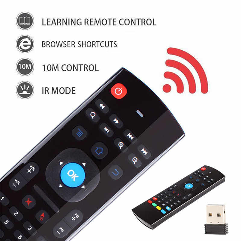 MX3 MX3-L バックライトエアマウス T3 スマートリモコン 2.4 2.4G RF ワイヤレスキーボード X96 Tx3 ミニ A95X H96 プロアンドロイド Tv ボックス