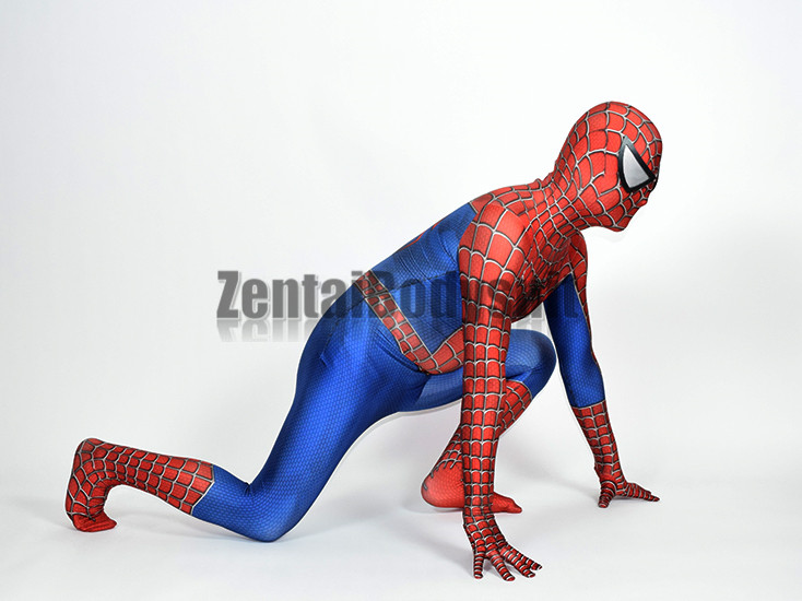 3D Printed Raimi Spider man Costume Halloween Party Cosplay Spiderman Suit in Anime Costumes from Novelty Special Use