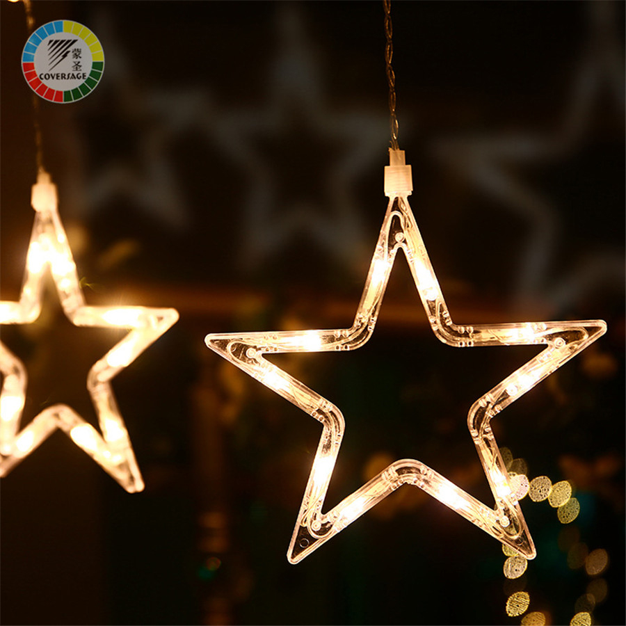Kaaned 138Led Fairy String Lights Kardin Girnaldas Luces Navidad Led - Puhkusevalgustus - Foto 4
