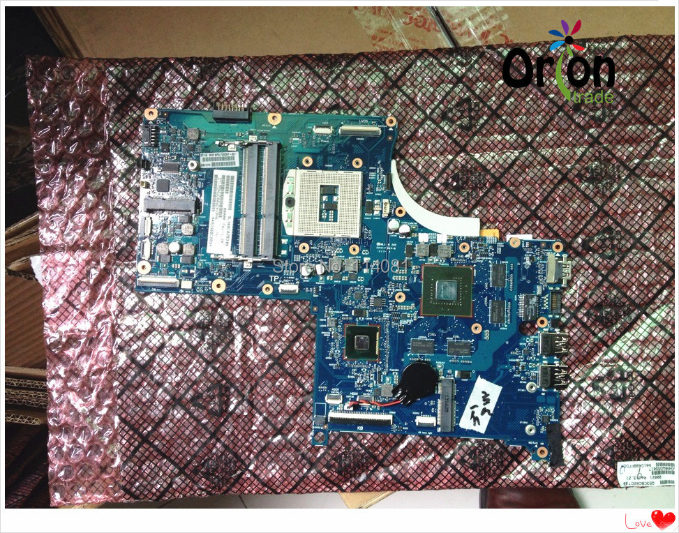 720267-501 720267-001 For Hp ENVY 17 Touchsmart 17 Notebook Motherboard 750M/2GB 100% TESTED OK 746447 501 746447 001 for hp touchsmart 15 envy15 motherboard hm87 740m 2g notebook system board tested