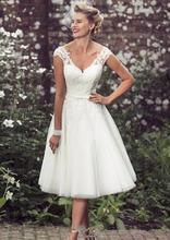 Новые пляжные элегантные свадебные платья длиной до колена с