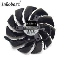 Power Logic PLD09210S12HH 87MM T129215SU For Gigabyte GTX 1050 1060 1070 Mini RX 470 480 G1