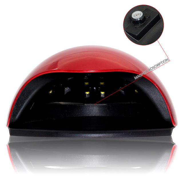 genailish SUN5X UV Lamp LED Lamp Nail Dryer 48W Nail Lamp Double light Auto Sensor Manicure Machine for Curing Nail Gel Polish