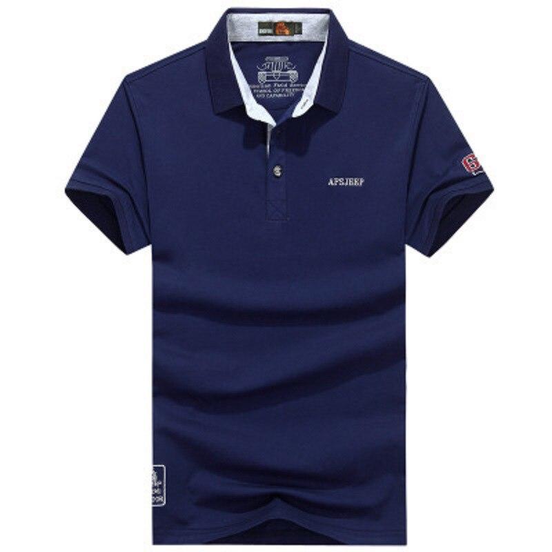Polo   Men Brand High Quality Casual 2019 Fashion Male   Polo   Shirt Summer Dress Cotton Top Clothing Collar Men   Polo   Shirt Business