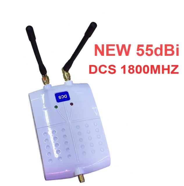 Nuevo modelo 55dbi DCS DCS repetidor de señal de refuerzo con anteanna ampliadora ampliadora 1800 mhz señal del teléfono móvil de refuerzo