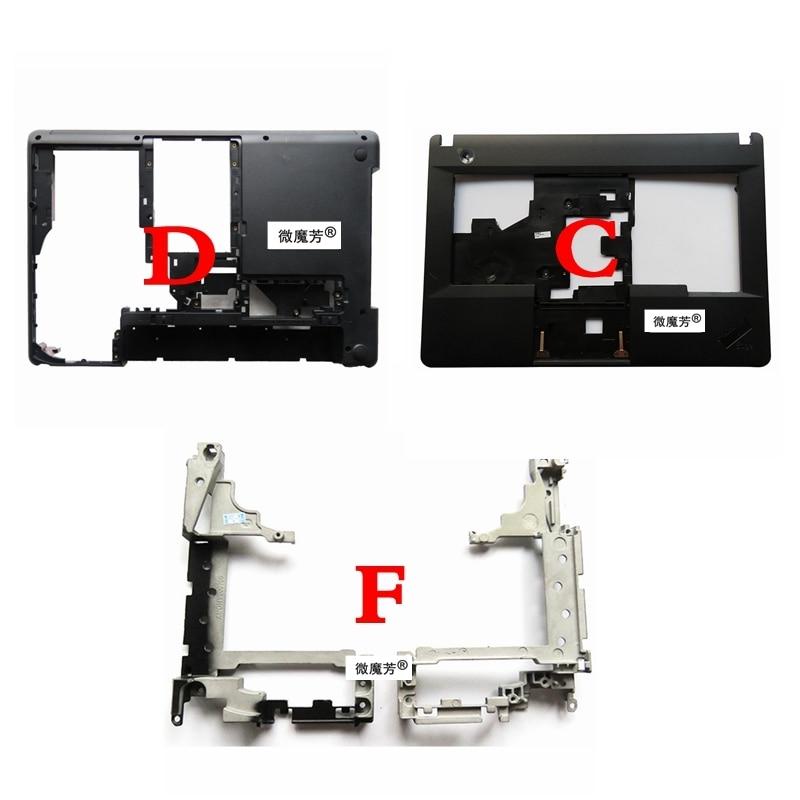 For Lenovo for ThinkPad E430 E430C E435 E445 upper case Laptop Cover &Laptop Bottom Base Case Cover & Skeleton cover