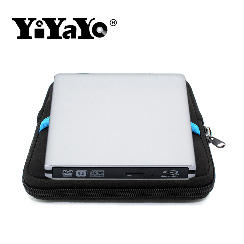 YiYaYo USB 3.0 Blu-ray drive External DVD RW Optical drive Combo CD/DVD/BD-ROM 3D Player Super drive for Laptop Macbook PC blu ray bd rw dvd rw external usb 3 0 apple macbook macbook pro for other laptop desktop with macbook air or usb port