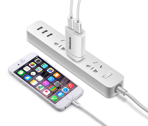 Image 5 - MaGeek 5V2.4A Universal USB Charger Travel Wall Charger Portable Power Adapter Mobile Phone Charger for iPhone & Samsung