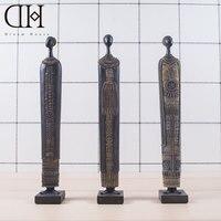Africa Theme Resin Figure Statue Home Decoration Africans Figurine Art Craft Figure Sculpture Ornament Gift Items