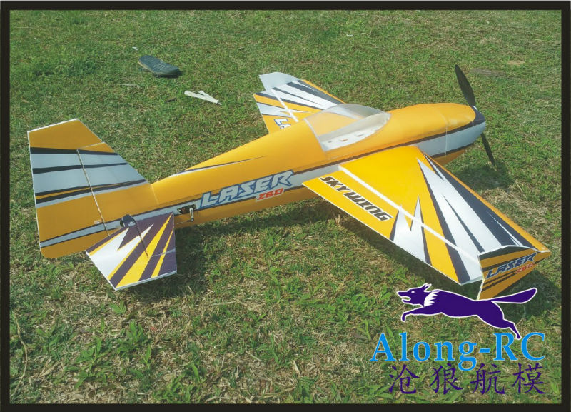 NEW PP material PLANE RC 3D airplane RC MODEL HOBBY TOYS SKYWING wingspan 38 15E LASER