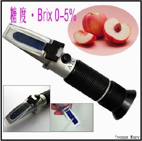 ФОТО Handheld brix Honey Refractometer brix 0~5%