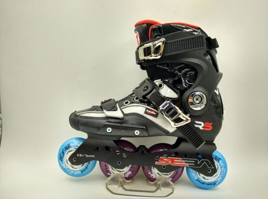 Free Shipping Adult's Roller Skates R5-S With Frame And Wheels