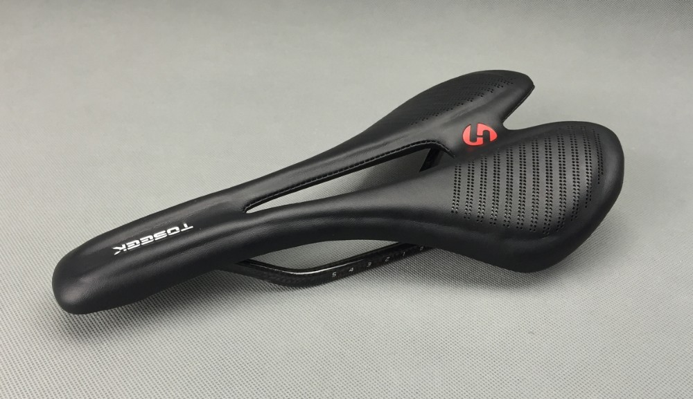 Lightweight full carbon fiber road mountain bike bicycle saddle MTB genuine leather cushion front seat human carbon saddle black full fiber road folding mountain bike parts bicycle 271 143mm sillin carbono mtb pu cushion front seat for carbon saddle
