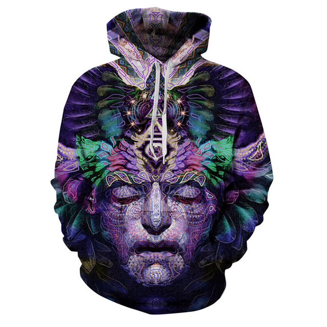 2017 Spring Men/Women's Creative 3D Hoodies Brand Clothing New Designer Mens Sweatshirts Funny Tops Printed hoddie