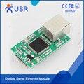 USR-TCP232-E2 Ethernet Модуль UART TTL для Ethernet TCP IP Конвертер Поддержка Modbus RTU Modbus TCP