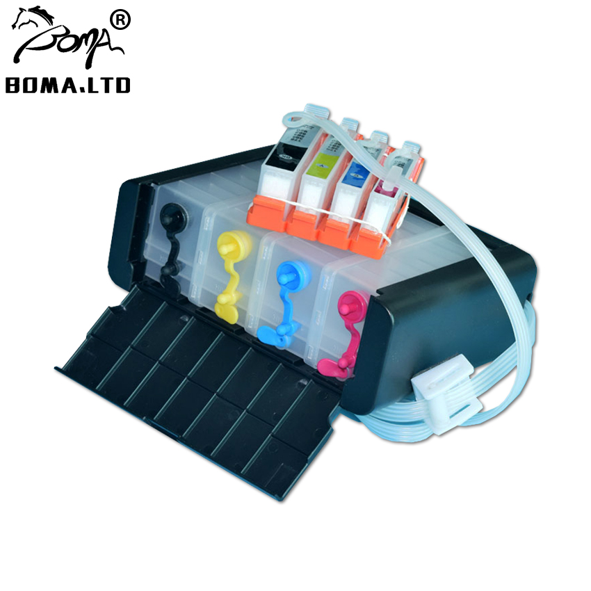 Post Percuma! Untuk HP364 Or Untuk HP 364 Ciss System For HP B110C B110E B209A B209C B210A B210C 3070A B210B Printer With Chip ARC