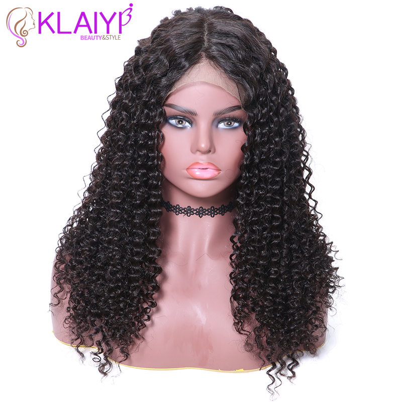 Klaiyi Hair Brazilian Lace Front Wig Remy Hair 360 Lace Front Human Hair Wigs 12
