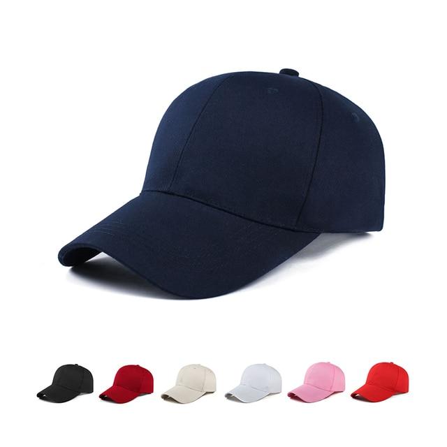 26806d82fcb1a6 quick-drying Hat black Baseball Caps for Men Women Sun Hats Solid color No  LOGO Hat Summer Visor Unisex Casual Cap Gorras