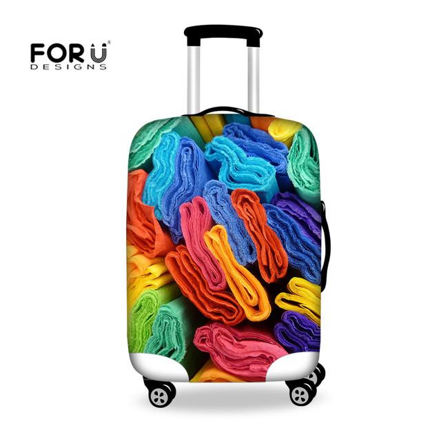 Casos Trole Tavel Lebokake FORUDESIGNS 6 Tipo Multi-cor À Prova de Poeira Caixas de Tampa Para Casa Decorativa de Poliéster Têxtil