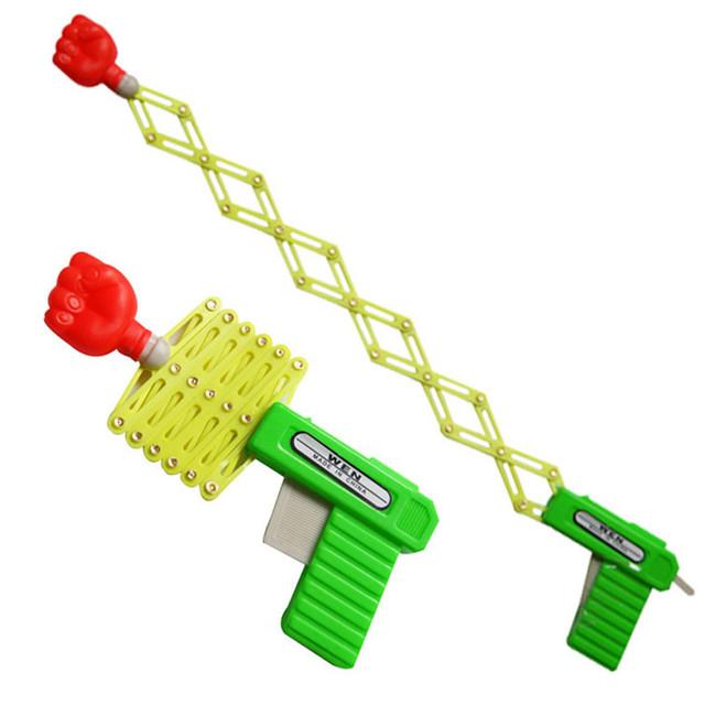 Retractable Fist Shooter Trick Toy Gun