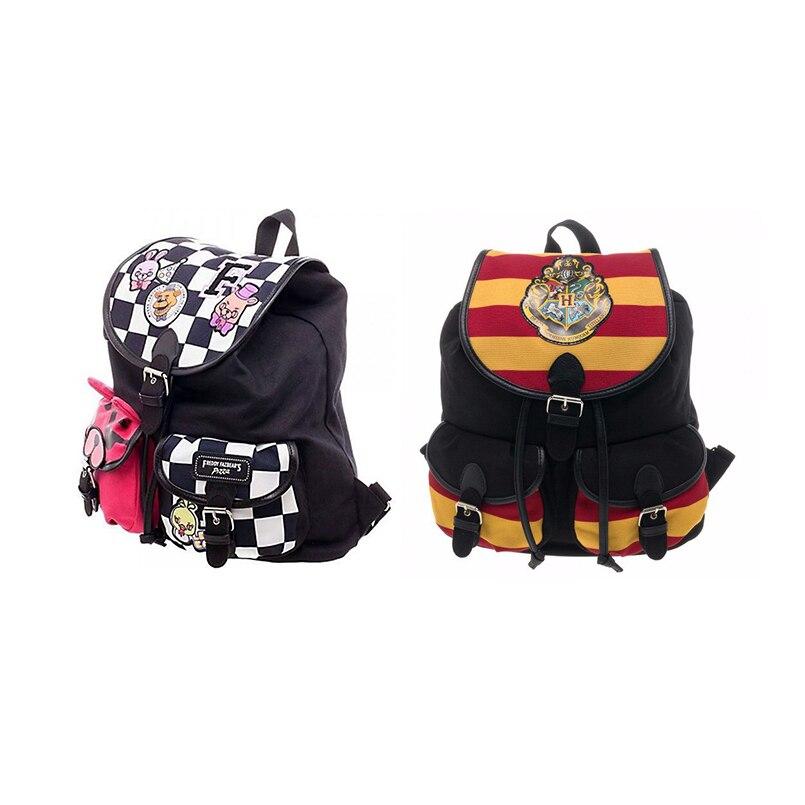 New Harry Potter backpack bag Hogwarts backpack women's shoulder bag good quality schoolbag цена