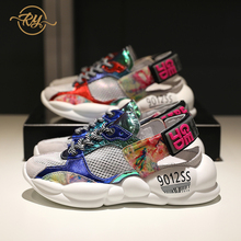 RY-RELAA woman sneakers Ins sports running shoes