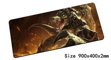 Renekton mouse pad 900x400mm pad mouse lol notbook computer mousepad Butcher of the Sands gaming padmouse gamer laptop mouse mat