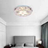 Современные кристалл Европейский Нержавеющаясталь потолочные светильники Plafonnier светодиодный потолочный светильник для Гостиная спальн
