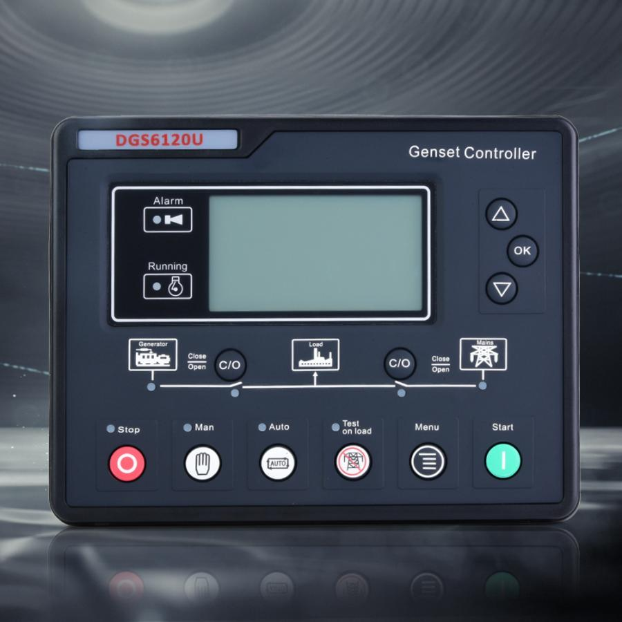 DGS6120U Electronic Generator Controller Module Generator Control Panel LCD Display Generator Control PanelDGS6120U Electronic Generator Controller Module Generator Control Panel LCD Display Generator Control Panel