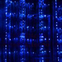 3 M * 3 M LED Cadena Luces de Flujo de Agua Cascada de Luz de Fondo Del Banquete de Boda Decoración de Alambre de Cobre luz de la secuencia