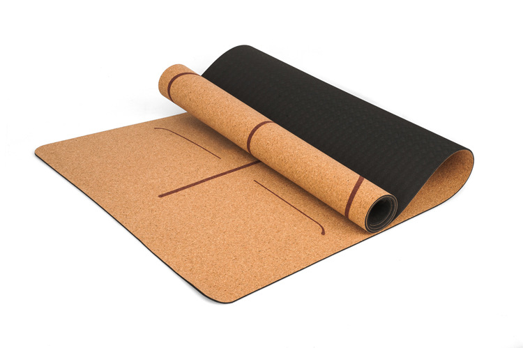 cork yoga mat - main