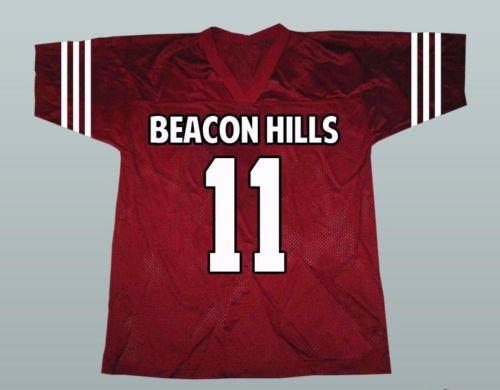 Scott McCall #11 Teen Wolf Beacon Hills Lacrosse Jersey For Men S-XXXL Free Shipping