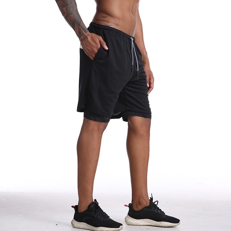 Gitf nenhum logotipo calções de ginásio homens