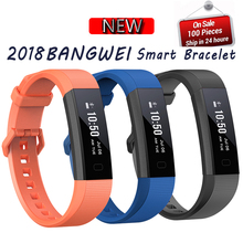 LIGE 2018 Mens Smart Watch Heart Rate Wristband Bracelet Fitness Activity Tracker Sleep Monitor Call Reminder Clock