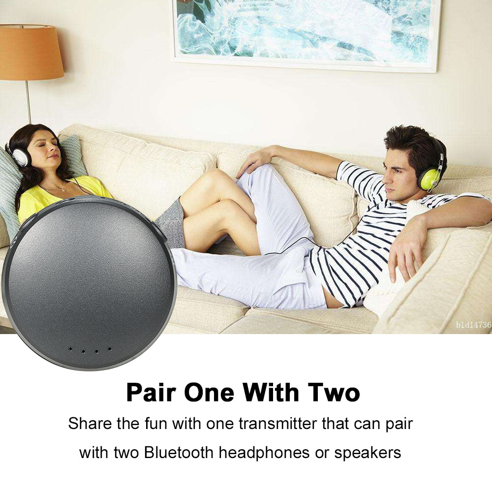 HBQ-T11 Wireless BT 2-in-1 Audio Receiver/Transmitter Free Conversion Mode
