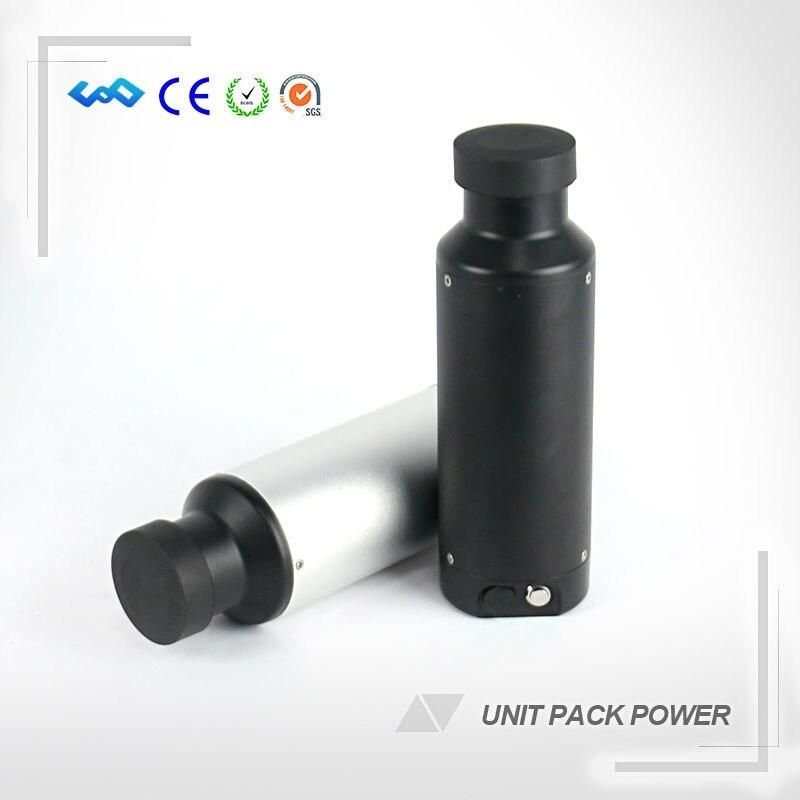 STATI UNITI UE No Tax Mini Tipo di Bottiglia 36 v 5.2Ah 5.8Ah 6.0Ah 6.8Ah Batteria Elettrica Della Bici Con Il Caricatore USB e supporto della bottiglia