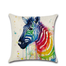 Colorful animals Cushion Cover Pillow Covers