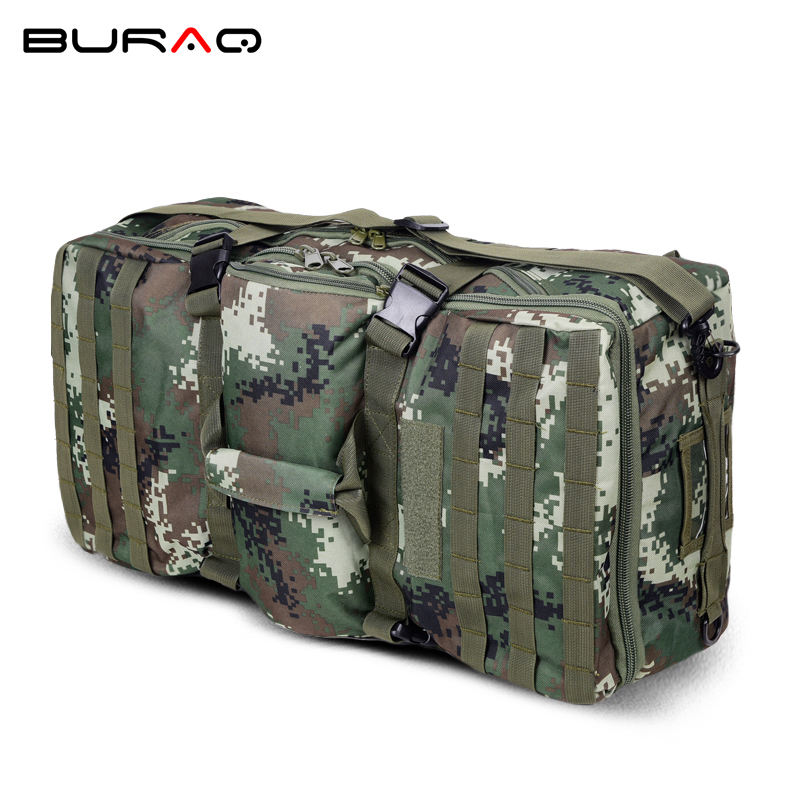 Large Capacity New 600D Ripstop Molle Camouflage Nylon Men Bag Rucksack Large Capacity Men's Military Tactics Backpack T0206 70 to 85l big large capacity adjustable multifunction out door travel backpack camouflage nylon tactics molle system rucksack