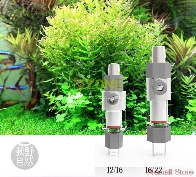 Akwarium CO2 Zewnętrzny Atomizer Dyfuzor Systemu Roślin Rosną Reaktora 13 17mm Nadaje 12/16 16/22mm Wody Rury rafinacji Wody Zbiornika