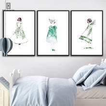 Minimalist Fresh Unframed Paintings Little Girls' Back Canvas Posters Wall Painting Art Print For Home Bedroom Decoration minimalist fresh unframed paintings little girls back canvas posters wall painting art print for home bedroom decoration