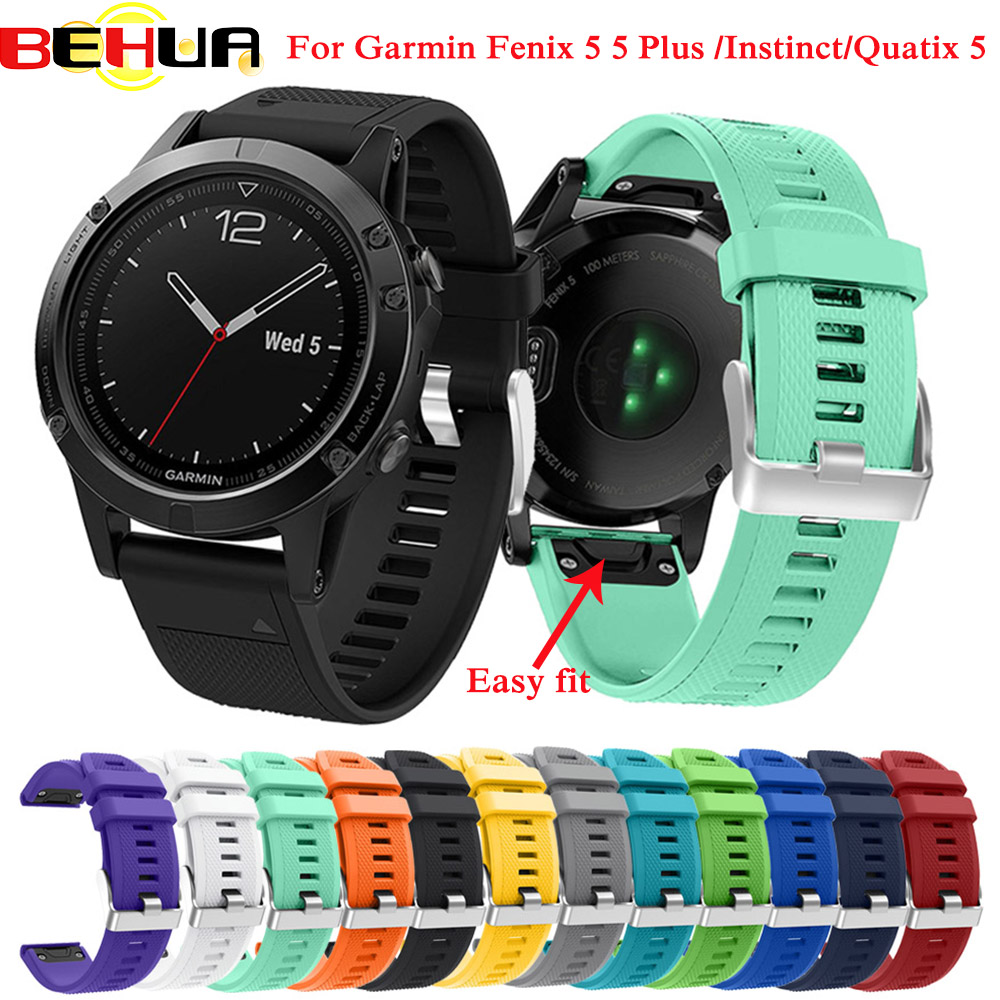 Original Replacement Band Strap For Garmin Fenix 5/5 Plus Forerunner 935 GPS Watch 22mm Watchband Quick Release Easy Fit Strap