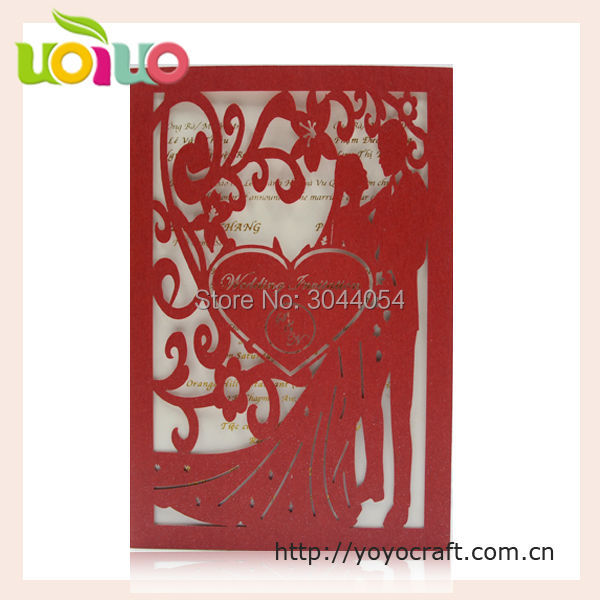 Us 53 5 2017 Best Sell Wedding Invitation Card Romantic Bride And Groom Creative Nepali Marriage Invitation Card Sample In Cards Invitations From