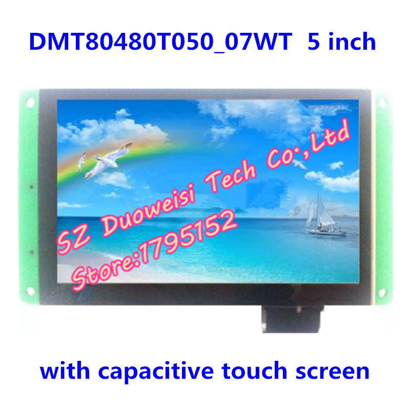 DMT80480T050_07WT 5 Serial touch screen Industrial capacitive screen voice screen Applications LCD MODULE DMT80480T050DMT80480T050_07WT 5 Serial touch screen Industrial capacitive screen voice screen Applications LCD MODULE DMT80480T050