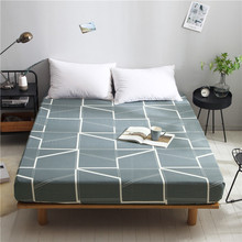 European Bed linings Cotton plaid mattress 1.8 meters bed cover 360° all inclusive fitted sheet custom made