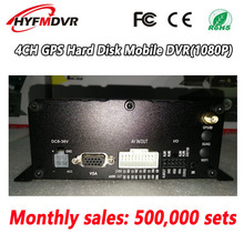 GPS track local video playback monitoring host AHD1080P 4CH MOBILE car/ship monitoring system factory outlet local video hd pixel monitoring host ahd960p mobile dvr business car freight car harvester anti vibration