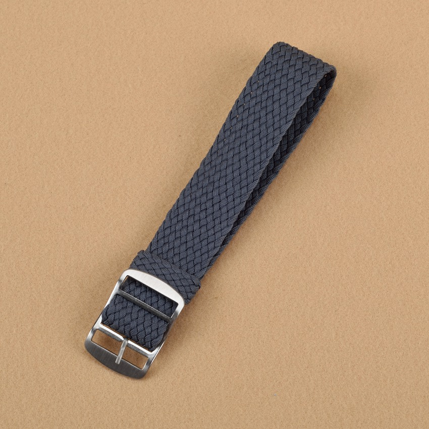 New Grey watchband Top quality 20MM Perlon NATO waterproof watch strap fashion fabric watch band available