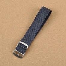 Nouveau Gris bracelet Top qualité 20 MM Perlon L'OTAN étanche bracelet de mode tissu montre bande disponible En Gros