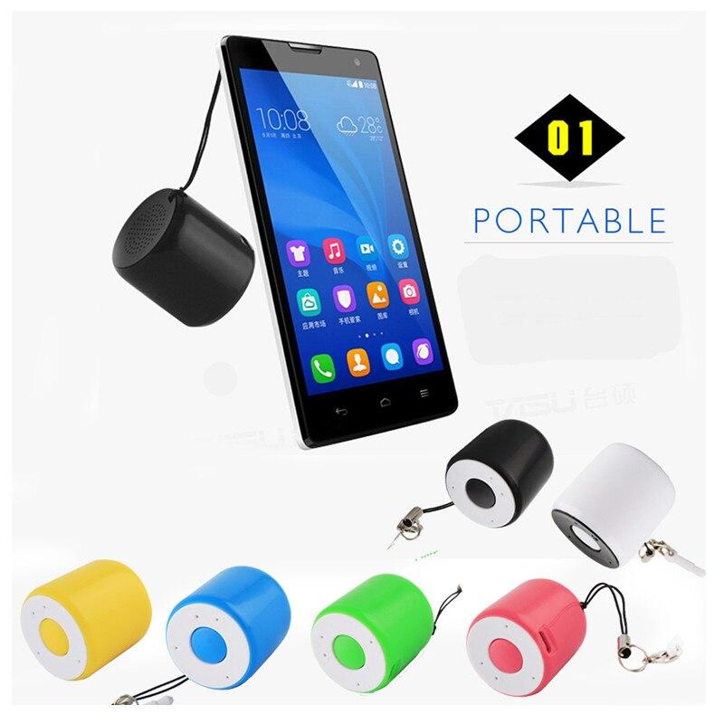 Super Mini Bluetooth Speaker Photo Remote Shutter Handfree Call Smart Wireless Portable Music Audio Player High Quality USB
